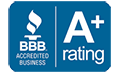 Better Business Bureau Rating A+ for The Retirement Solution
